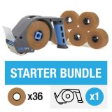 ZeroTape Starter Bundle 1 - Brown Tape