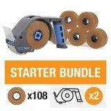 ZeroTape Starter Bundle 2 - Brown Tape