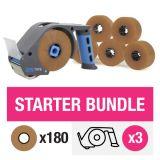 ZeroTape Starter Bundle 3 - Brown Tape