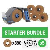 ZeroTape Starter Bundle 4 - Brown Tape