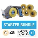 ZeroTape Starter Bundle 1 - Clear Tape