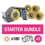 ZeroTape Starter Bundle 3 - Clear Tape