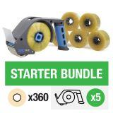 ZeroTape Starter Bundle 4 - Clear Tape