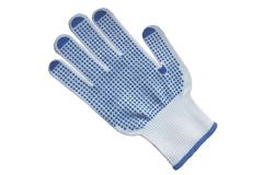 Handling Gloves With Vinyl Dots Size 9/L