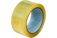 50mmx66m Clear Polyprop Low Noise Tape