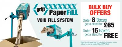 Grip PaperFill Void Fill Offers