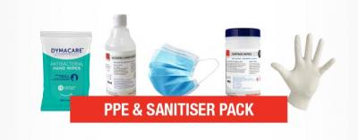 PPE and Sanitiser Pack