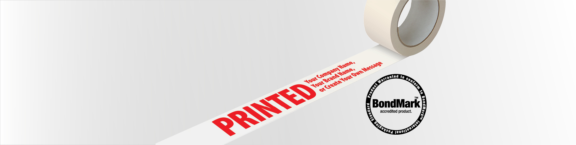 Promote your branding, with Custom Printed Tape